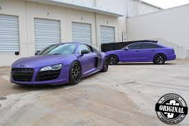 Audi R8 Matte - avery u0027s matte purple audi r8 v10 by superior auto design gtspirit