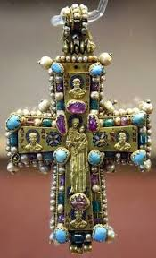 pectoral crosses for sale pectoral cross from martvili 8th 9th cent in gold repoussé
