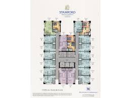 Condominium Plans Floor Plans U0026 Unit Layouts Stamford Executive Residences