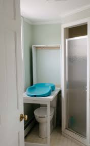 Bathroom Changing Table A Fold Away Changing Table For The Bathroom Tiny House