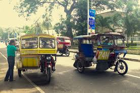 philippines pedicab discovering another side to disarming dumaguete