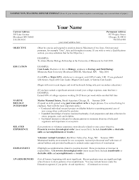 Best Resume Template For Nurses by Format Of Teachers Resume