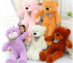 big teddy aliexpress buy 5 colors 160cm teddy brown plush