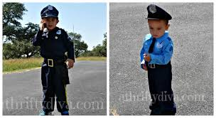 Boys Police Officer Halloween Costume Party Halloween Atd Surviving Mommyhood