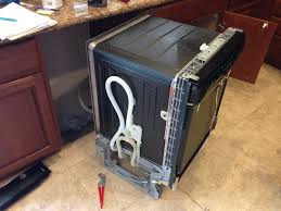 bosch dishwasher not draining leaving standing water after the