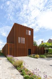 House Images Gallery Gallery Of The Corten House Dmoa Architecten 1