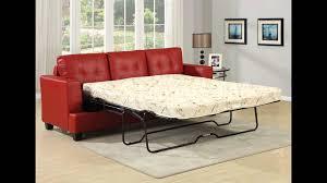 30 photos red sleeper sofa