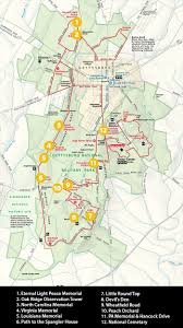 Pennsylvania On A Map by Guide To Photographing The Battlefield At Gettysburg Pa Loaded
