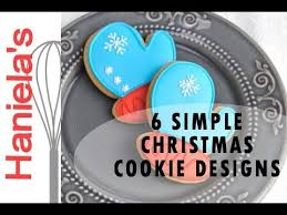 how to decorate simple christmas cookies decorating for beginners