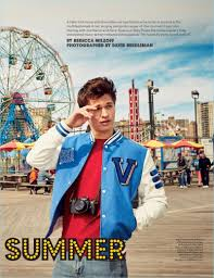 ansel elgort ansel elgort covers billboard heads to coney island for shoot