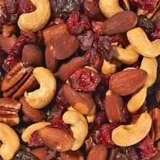 ferris company 3 1 lb jars cherry berry and nut mix roasted