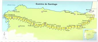 Santander Spain Map by In Honor Of My Sister Kim Kolb Walking Camino De Santiago Here U0027s