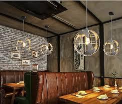 Restaurant Pendant Lighting New Globe Pendant Lights Black White Color Pendant Ls For Bar