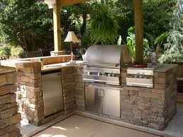 outdoor kitchen outdoor kitchen idea awesome with best of