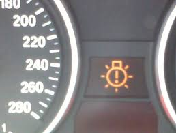 warning lights on bmw 1 series dashboard burned out light bulb warning light