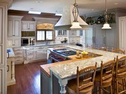 kitchen kitchen islands with stove top and oven breakfast nook