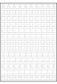zaner bloser writing paper printable tracing alphabet for writing practice kids activity alphabet tracing alphabet for writing practice