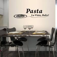 Wall Decals For Dining Room Compare Prices On Pasta Stickers Online Shopping Buy Low Price