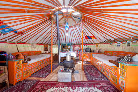 Yurt Floor Plans by Pimp My Yurt Interior Design For Round Spaces