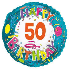 mylar balloons happy birthday 50 mylar balloon target
