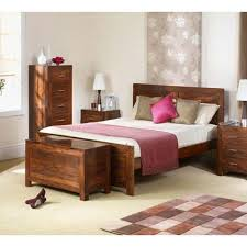 Heritage Furniture UK Laguna Sheesham  Piece Bedroom Set - Laguna 5 piece bedroom set