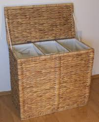 laundry separator hamper modern wooden laundry sorter u2014 sierra laundry mail wooden