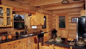 Rustic White Cabinets Rustic Log Cabin Kitchen Cabinets Exitallergy Com