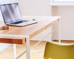 Computer Desk Hard Wood Desks Etsy