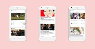 personalize my android phone a personalized news feed is coming to on ios and android