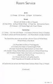 Carnival Cruise Dining Room Menu - Dining room menu
