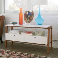 media consoles furniture modern media console 48 west elm