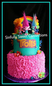 the 25 best trolls cakes ideas on pinterest princess poppy cake
