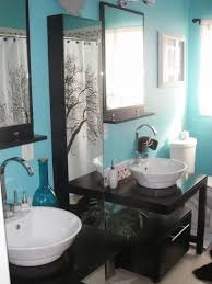 bathroom ideas classic modern small bathroom design blue color