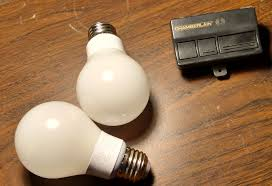 led garage light bulbs led bulbs interfering with garage door opener