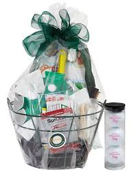s day gift baskets s day golf gift basket