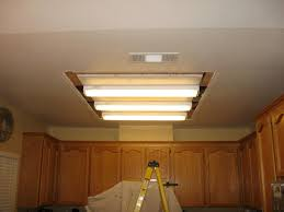 Incredible Home Lighting Replace Fluorescent Light Fixture In