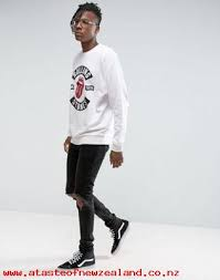men u0027s asos oversized sweatshirt with rolling stones print 1076208