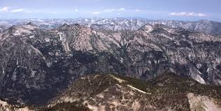 bitterroot mountains map bitterroot range
