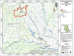 Bc Active Wildfires by Bc Wildfire Service Update May 18