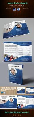 funeral help program funeral program template vol 1 by owpictures bi fold brochure