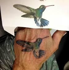 23 best realistic hummingbird tattoos images on pinterest