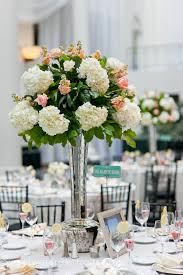 Flower Vases Centerpieces Wedding Wednesday Peach And Ivory Beautiful Blooms