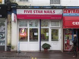 five star nails on torquay road nail salons in paignton devon