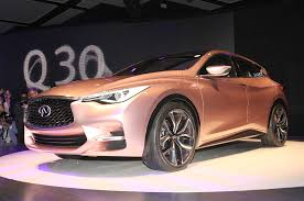 rose gold cars infiniti q30 hatch qx30 to be built in u k next year motor trend