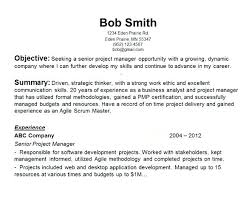pmp certification resume sample generic resume template examples resumes exciting most cover