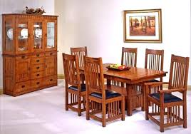 mission style dining room set mission style dining room chairs mission dining room craftsman style