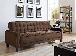 sofas under 200 furniture futon sofas luxury convertible mckinley brown sofa bed