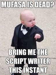 Meme Script - baby godfather memes quickmeme