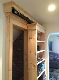 Retractable Closet Doors Impressive Disappearing Closet Door Got Here Plus Sliding Doors