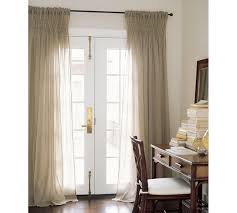 Smocked Burlap Curtains Smocked Drape Pottery Barn